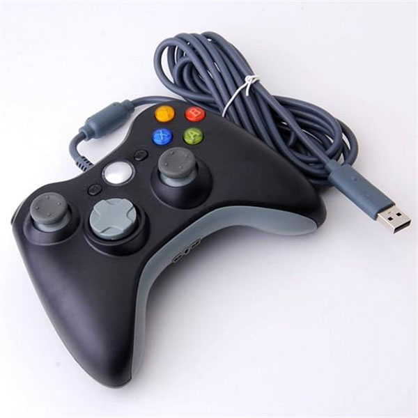 Wired Controller for Xbox 360 Black UnofficialXbox 360 Controller Wired