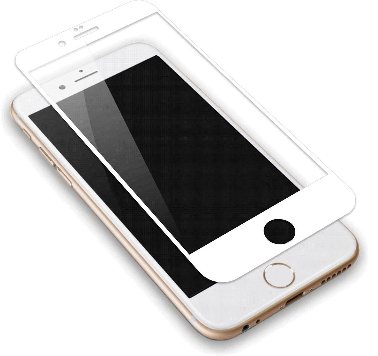 Tempered Glass Iphone 6 Plus 6s White Discoazulcom 4g 4s 5 5s 5c
