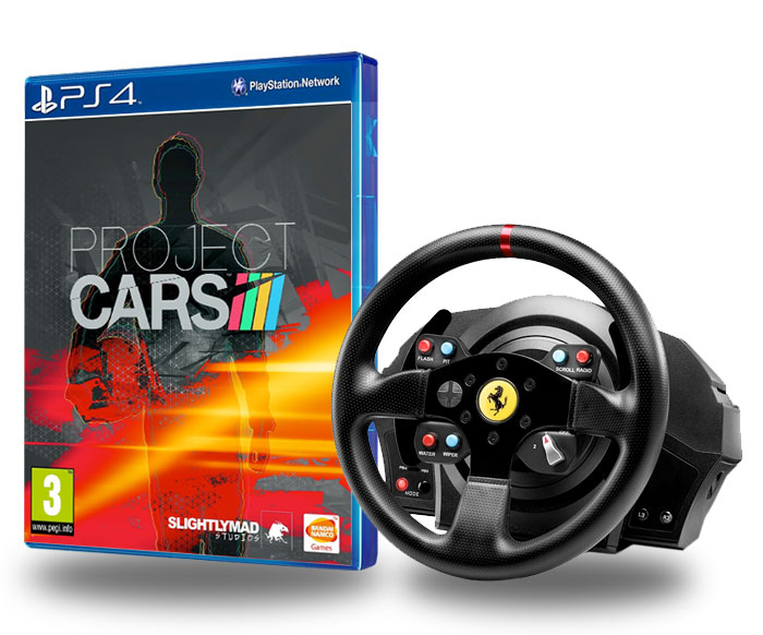 thrustmaster t300 rs ferrari gte project cars ps4. Black Bedroom Furniture Sets. Home Design Ideas