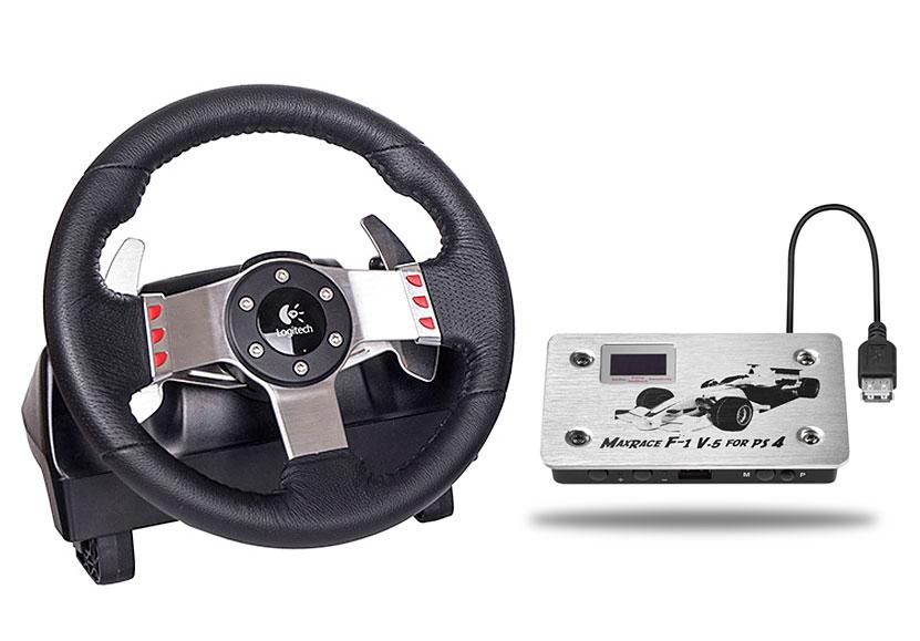 maxrace f1 v5 ps4 logitech g27 racing wheel. Black Bedroom Furniture Sets. Home Design Ideas