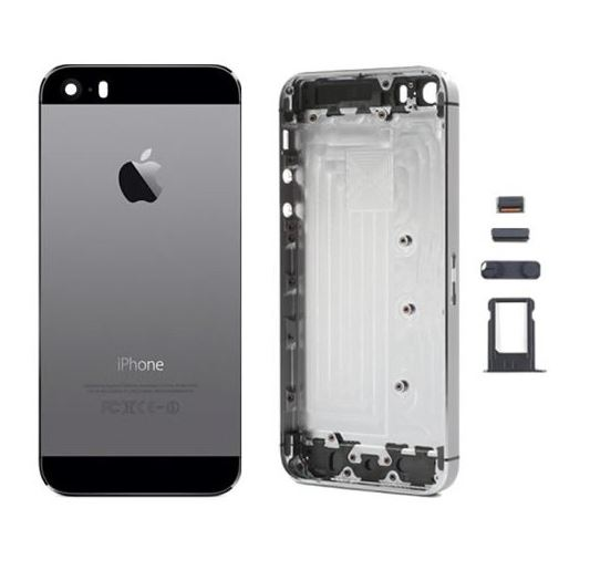low priced ee663 6b33c Back Cover Replacement for iPhone SE Space Grey