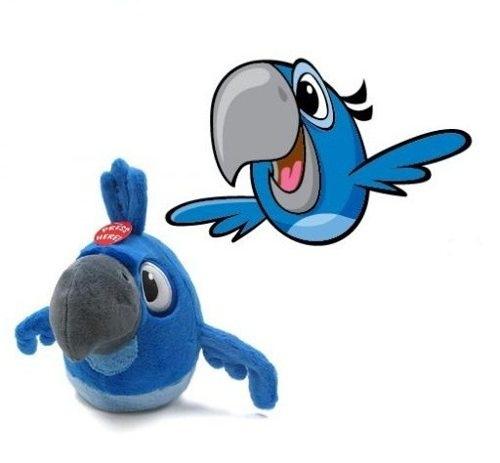 Plush Blu Angry Birds Rio 13 Cm