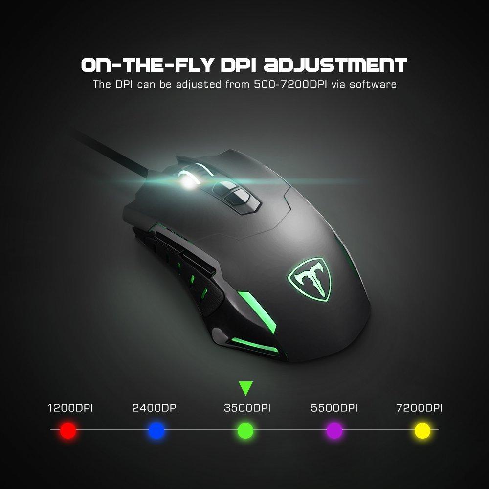 T7 7200 Dpi Gaming Mouse Discoazul Com