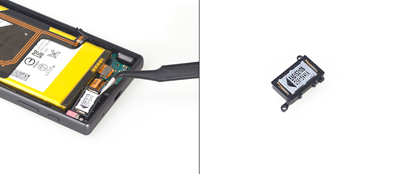 sony xperia z5 compact speaker
