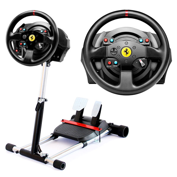 thrustmaster t300 rs ferrari gte wheel stand pro v2 t300. Black Bedroom Furniture Sets. Home Design Ideas