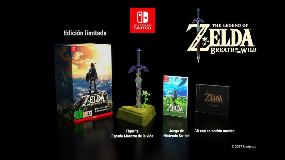 The Legend Of Zelda Breath Of The Wild Collector S Edition Sw