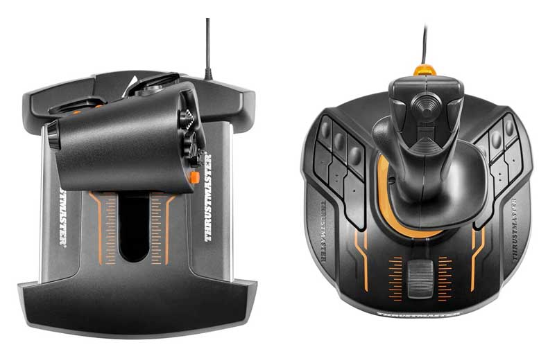 Thrustmaster T-16000M FCS Flight Pack - DiscoAzul com